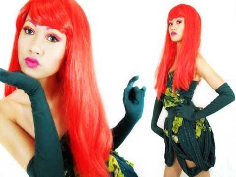 Halloween 2010: Poison Ivy Costume - Secretlifofabionerd