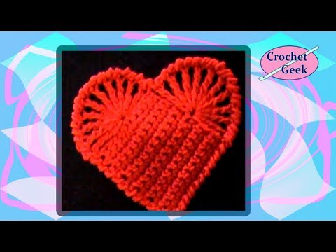 Crochet Geek - Easy Crochet Heart