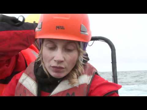 Greenpeace activist speaks from the Arctic