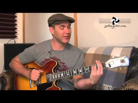 Secondary Dominants (Jazz Guitar Lesson JA-032) How to play