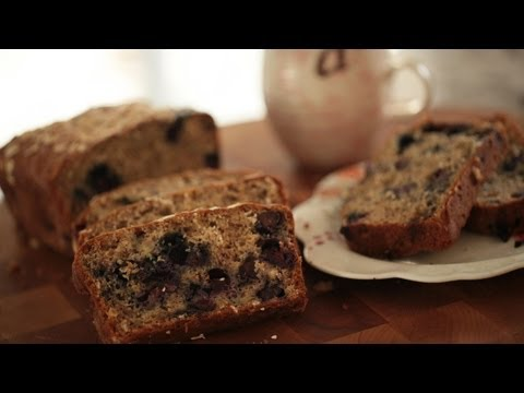 Banana Bread w/ Blueberry & Oats: Make It (How to) || KIN EATS