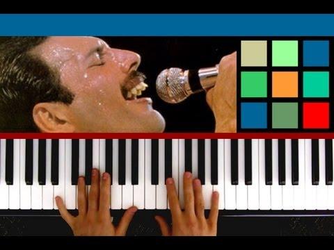 """How To Play """"Bohemian Rhapsody"""" Piano Tutorial / Sheet Music (Queen) part 5"""