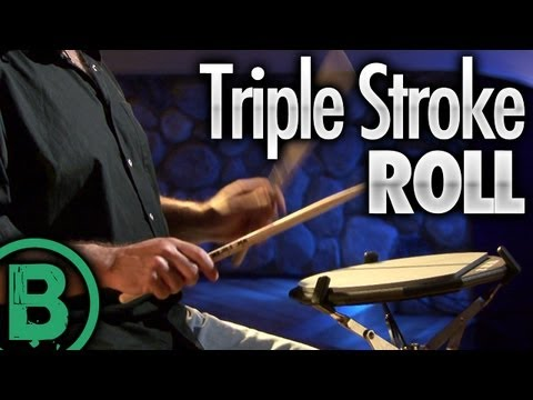 Triple Stroke Roll - Drum Rudiment Lessons