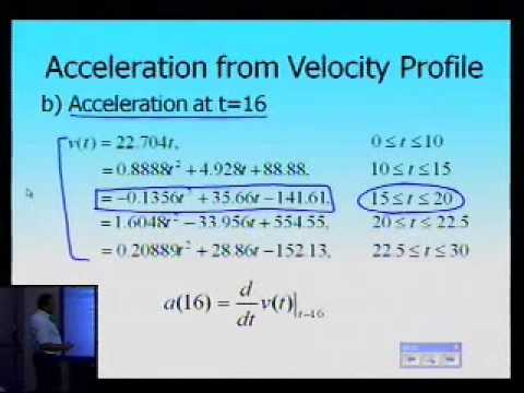 Quadratic Spline Interpolation: Example: Part 2 of 2