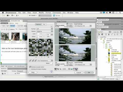 Adobe Dreamweaver CS5 : IMAGES, ROLLOVERS & HOTSPOTS Optimizing Photoshop® Smart Objects