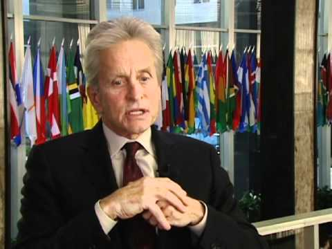 Michael Douglas Speaks on the Importance of Diplomacy