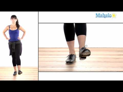 How to Tap Dance: Back Flap Heel