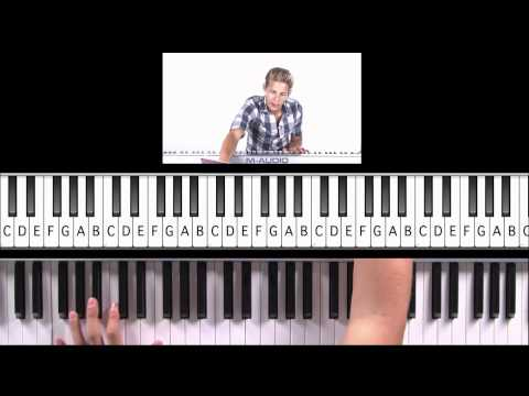"How to Play ""Smile"" by Lily Allen on Piano"
