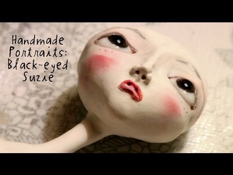Handmade Portraits: Black-eyed Suzie (original cut)