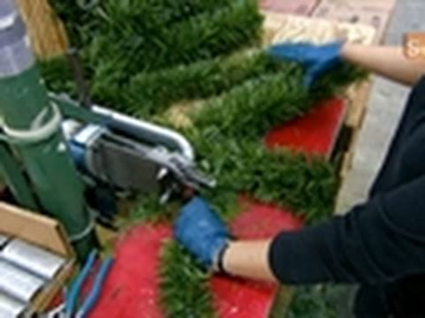 Making Of Artificial Christmas Trees