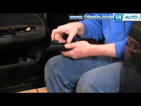 How To Install Replace Driver Power Window Switch VW Passat 98-01 1AAuto.com