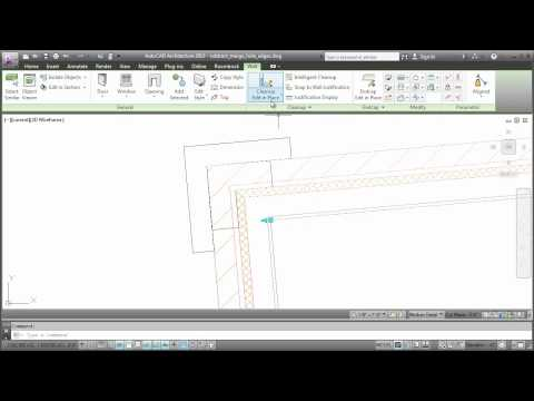 Customizing Wall Cleanups: AutoCAD Architecture 2013