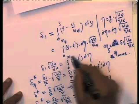 Mod-01 Lec-07 Similaity Solution Velocity BL