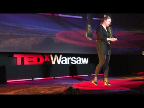 You will never eat alone again: Aga Kozak at TEDxWarsaw