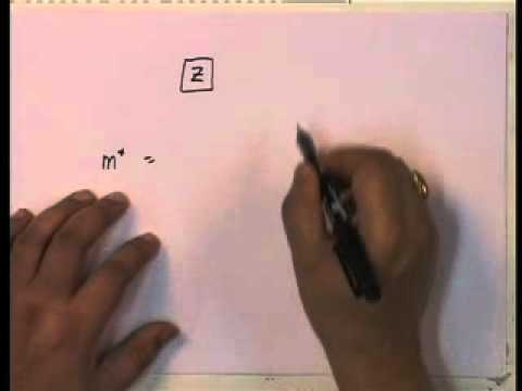 Mod-01 Lec-18 Generalized Single Degree of Freedom Systems Equations of Motions