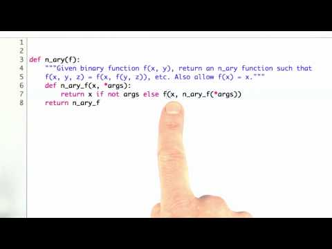N ary function Solution - CS212 Unit 3 - Udacity
