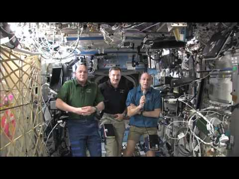 Texas Students Link Up with ISS