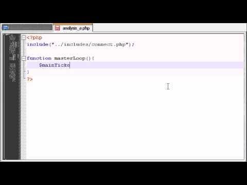 PHP Stock Market Analyzer - 13 - Beginning Analysis