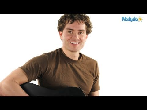 How to Play an A Sharp Major Seven (A#maj7) Chord on Guitar