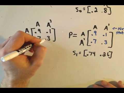 Markov Chains, Part 2