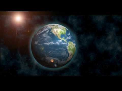 Earth and Space Made in Adobe After Effects