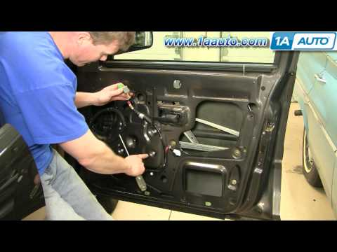 How To Install Replace Window Regulator Ford Explorer Sport Trac 01-05 1AAuto.com