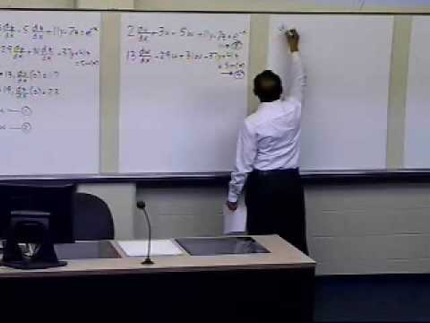 Coupled Ordinary Differential Equations: Background: Part 2 of 2