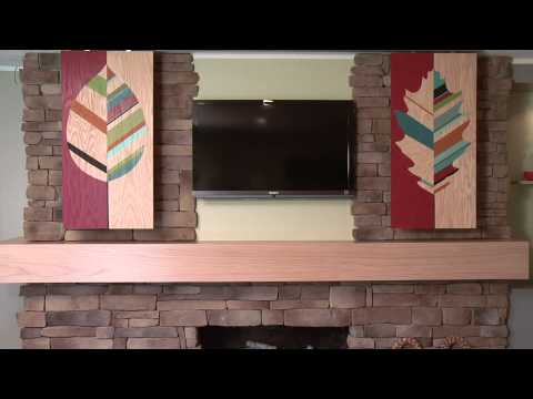 How to Hide Your Flat Screen TV with Stylish Sliding Panels