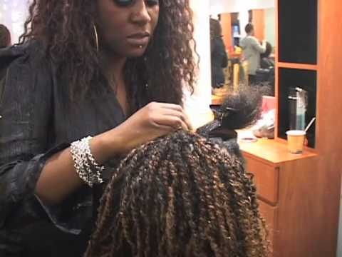 How to Create Baby Curl Twists