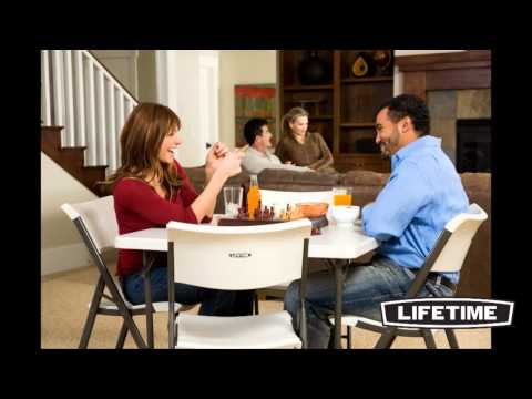 Lifetime Contemporary Folding Chairs