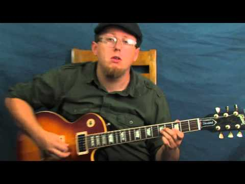Blues lead guitar lesson Joe Bonamassa inspired soloing Blues Deluxe style on Gibson Les Paul