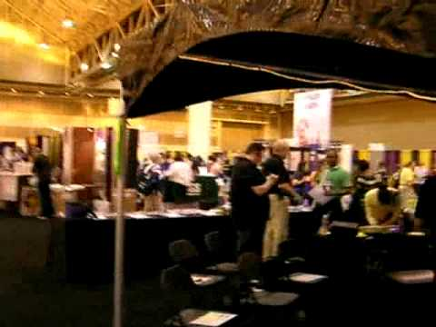 Exhibit Hall at the 2009 National Science Teachers Association Conference