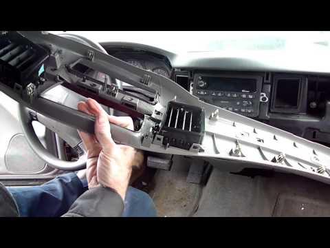 Chevrolet Impala Radio Removal