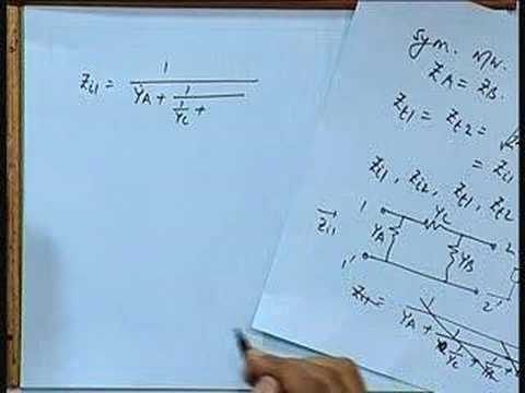 Lecture - 22 Image Impedance, Iterative Impedance