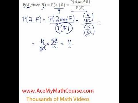 Conditional Probability Intro
