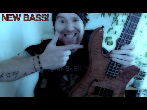 Testing a new Bass! (Spectorcore Piezo)
