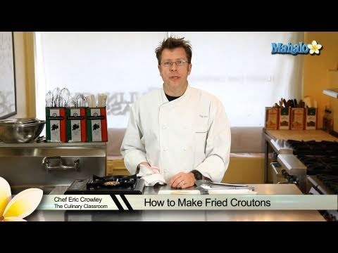 How to Make Fried Croutons