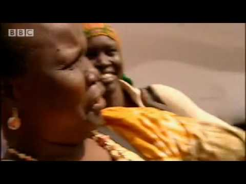 Supermodel Alek Wek witnesses the impact of the Sudanese war - BBC