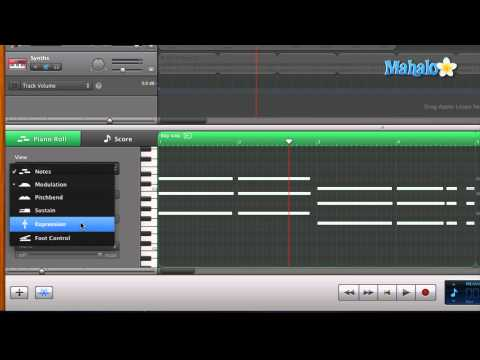 Learn GarageBand in 30 Days: MIDI Expression