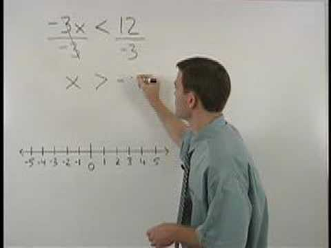 Solving Inequalities - YourTeacher.com - Algebra Help