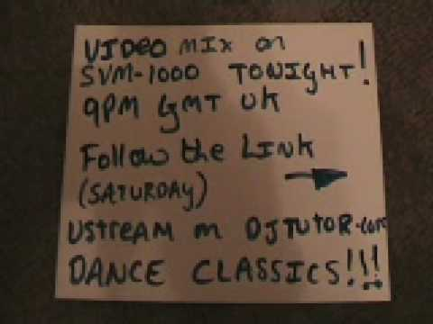 Pioneer SVM1000 Old school DANCE MUSIC Video mix Tonight 9pm
