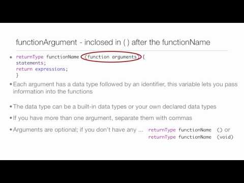 Objective-C Tutorial - Lesson 10: Part 1: Functions
