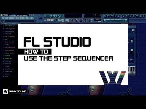 FL Studio: How To Use The Step Sequencer | WinkSound