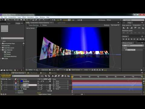 After Effects CS6 Essentials 3D New Material options