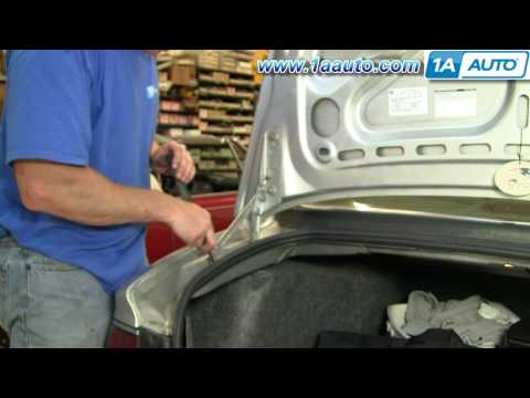 How To Install Replace Trunk Lid Support Strut Buick Century 97-05 1AAuto.com