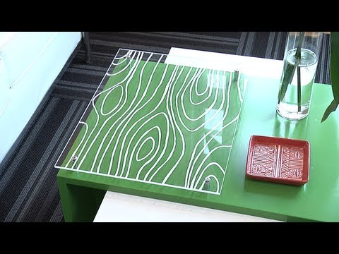 DIY Acrylic Coffee Table