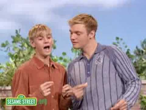 Sesame Street: Aaron Carter And Nick Carter Sing I Like To Sing