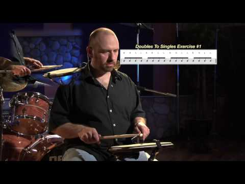 Doubles To Singles Exercises | Drum Lessons