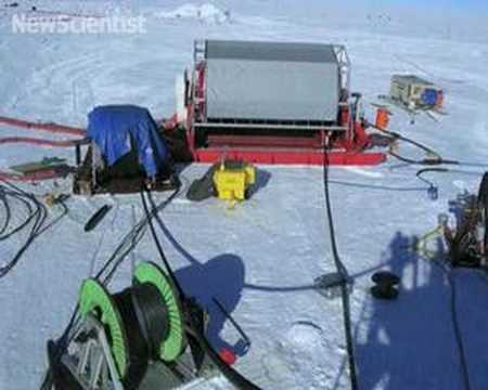 World's largest neutrino detector takes shape under ice