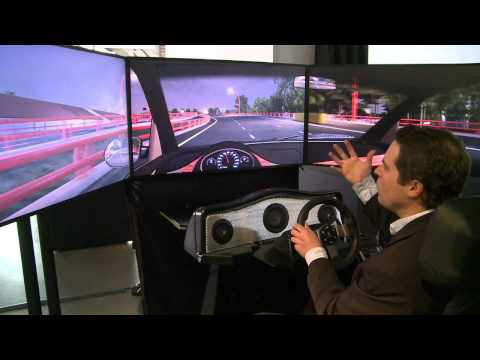 Presidio Parkway Driving Simulator from Autodesk Gallery, San Francisco